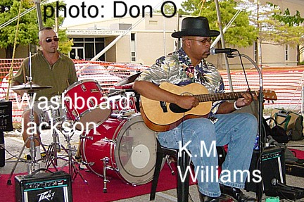 km williams and washboard jackson