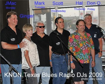 KNON Blues DJs 2009