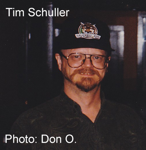 Tim Schuller, copyright Don O. 1996, all rights reserved